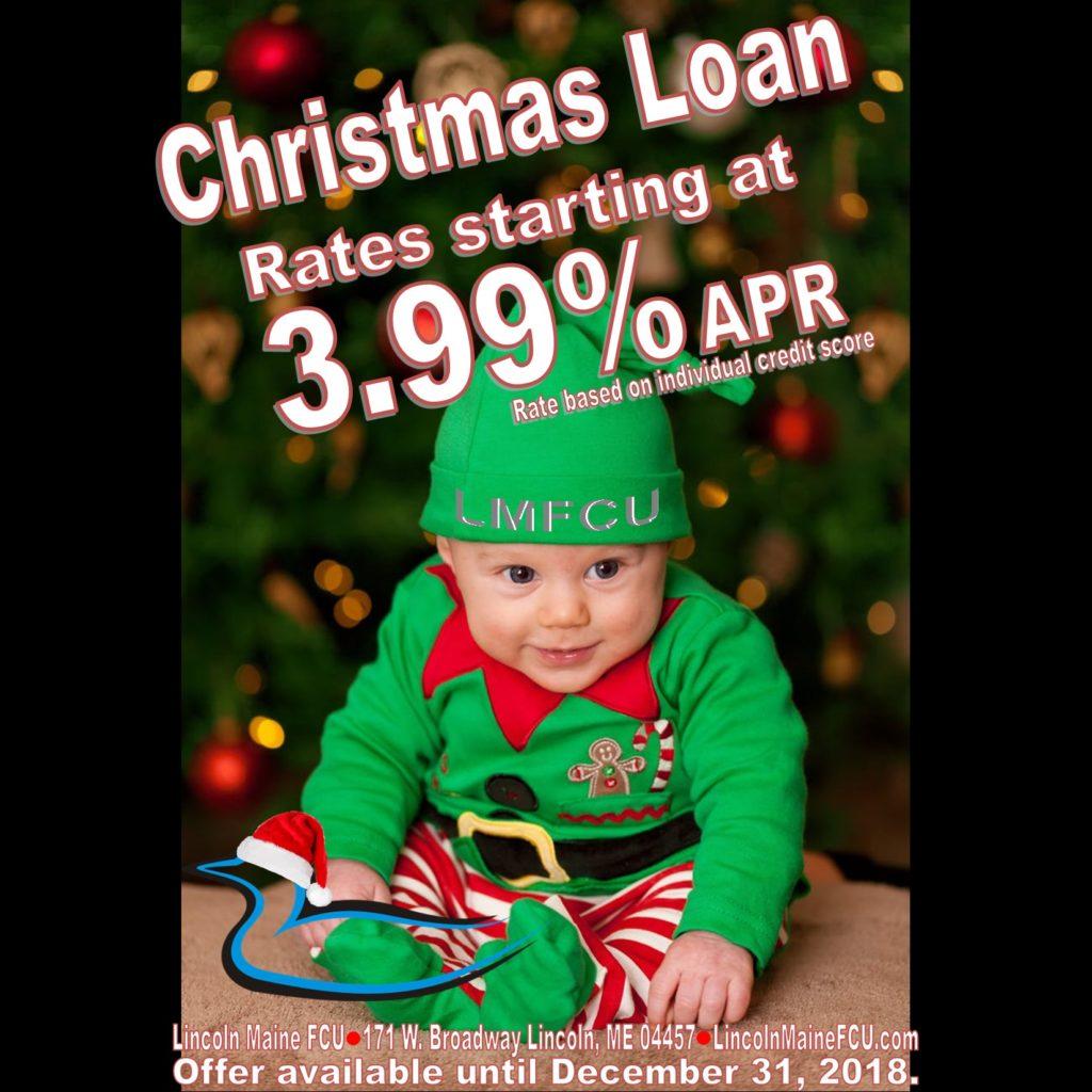 Christmas Loans 3.99% APR