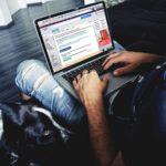 Computer online account opening