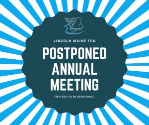Postponed Annual Meeting