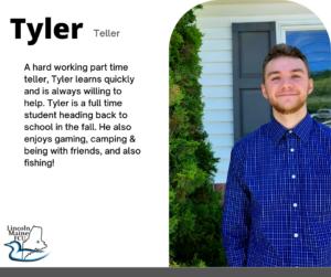 Feature staff Tyler