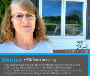 Feature: Denise MSR Book keeping